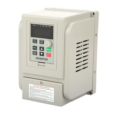 AC220V 2.2kW Variable Frequency Drive Speed Controller Motor VFD PWM AT1-2200X