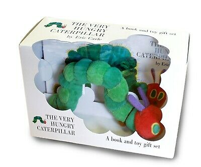 The Very Hungry Caterpillar. Book and Plush-Toy, Carle, Eric
