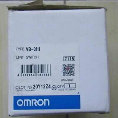 1PC New Omron Limit Switch VB-3111 VB3111 One year warranty