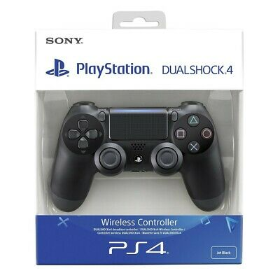 PS4 orige Wireless DualShock 4 gamepads Jet Black / nero V2 Sony nell'imballaggi