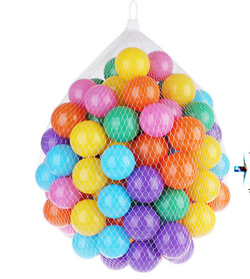 100PCS Plastic Balls for Children Ball Pits Kids Multi Coloured Toys Play Pool
