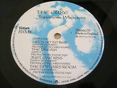 The Cure-Japenese Whispers - Fiction Fixm.8 1983 Ex+