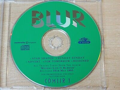 Blur/Modern Life is Rubbish/1993 Promo Sampler CD