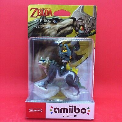 Nintendo amiibo WOLF LINK W/Tracking# THE LEGEND OF ZELDA Twilight Princess