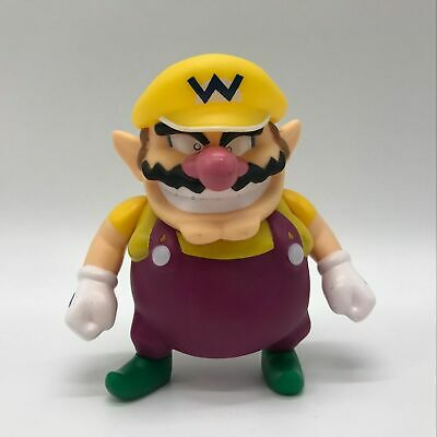 New Super Mario Bros. Wario Action Figure Plastic PVC Doll Toy Collectible Gifts