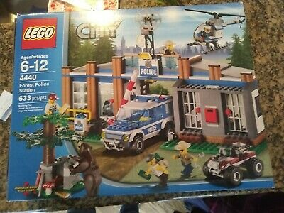 Lego City Forest Police Station 4440 2500 Picclick