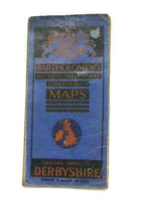 Sheet 13 Derbyshire, Half-Inch Revised Contoured Map of (Anon - 1111) (ID:53356)