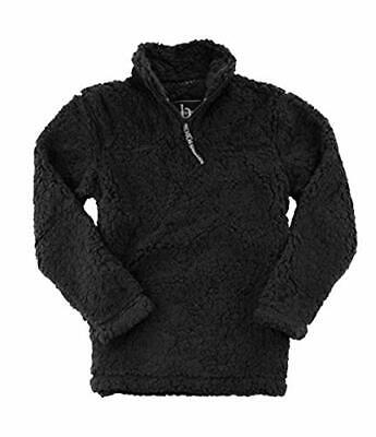 Fluffy Fuzzy Shirpa Boxercraft Adult Super Soft 1/4 Zip Sherpa Pullover
