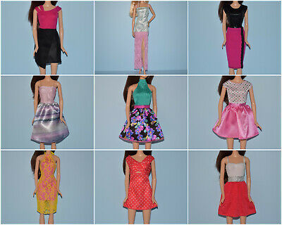 Assorted Lot of Dressy & Party Dresses Genuine BARBIE Fashion