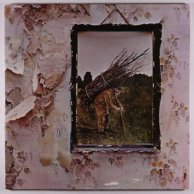 Led Zeppelin - Untitled (IV) LP - Atlantic Club VG+