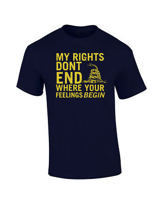 My Rights Don/'t End Where Your Feelings Begin 2nd Amendment   3112