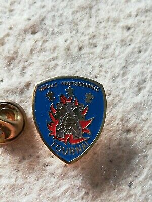 Pin's Pins TOURNAI amicale professionnels fireman sapeurs pompiers brandweer