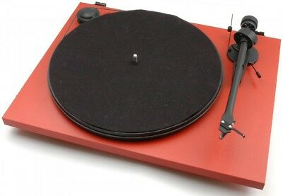 Project The Primary Turntable Red Inc Cartridge / New
