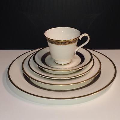 20Pc Royal Doulton Harlow Lot: 4X Complete 5 Piece Place Settings Ch4947