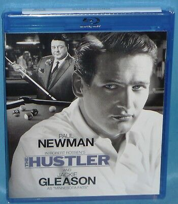 Blu-ray : The Hustler (1961) Paul Newman, Jackie Gleason, as Minnesota Fats New