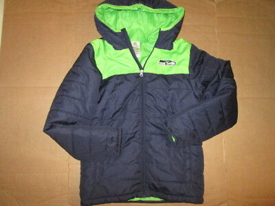 best website 2db88 8da2e NIKE BLUE JACKET Seattle Seahawks NFL Sz 20 XL Big Boys ...