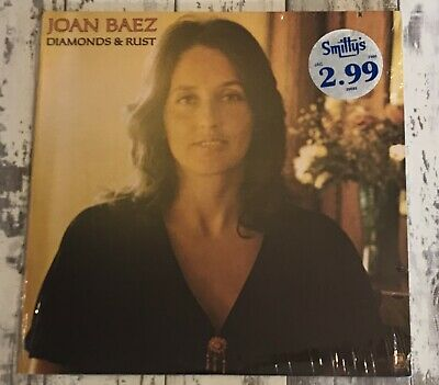 JOAN BAEZ DIAMONDS & RUST Vinyl LP US 1975 ROCK SP-4527 SHRINK WRAPPED