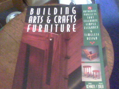 Building Arts & Crafts Furniture by Paul Kemmer