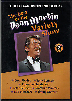 THE BEST of DEAN MARTIN VARIETY SHOW Vol 2 on DVD w/ JIMMY STEWART Peter Sellers