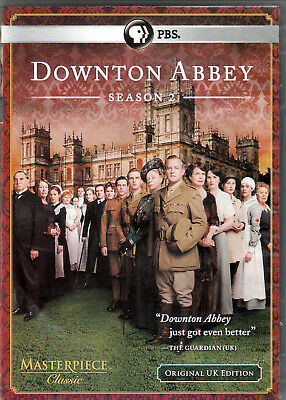 DOWNTON ABBEY The COMPLETE Second SEASON 2 on DVD of PBS TV Original UK EDITION!