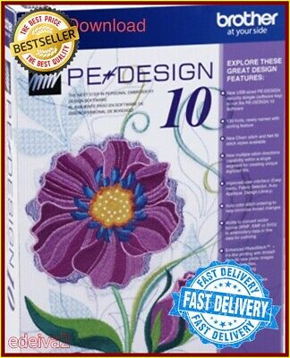 Brother PE Design 10 Embroidery Full Software