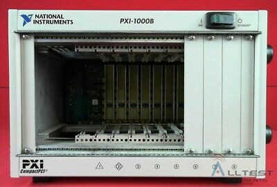 National Instruments PXI-1000B 8 Slot PXI Mainframe