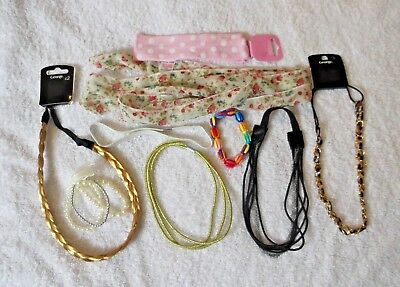 Bundle of 9 HAIR & JEWELLERY Items Unwanted Gifts