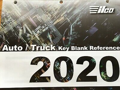 Key Blank Catalog /  Ilco Auto/Truck 2019 / Free With Min Purchase / Free S/H