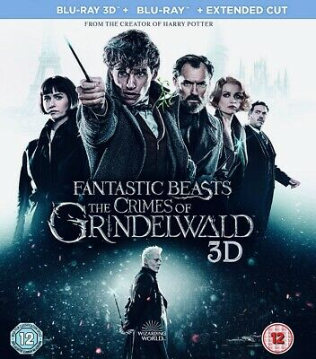 Fantastic Beasts And Crimes Of Grindelwald Full Hd 3D Blu-Ray Disc