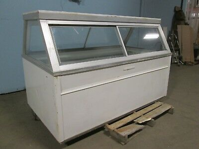 """""""Hussmann Qim 6"""" H.d. Commercial Refrigerated Lighted Deli/Meat Display Freezer"""