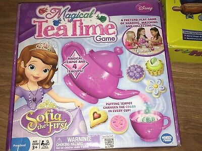 Disney Sofia The First Magical Tea Time Game (3+ Years)(New In Box)