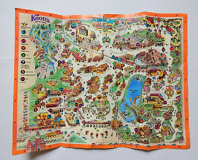 KNOTT'S BERRY FARM Amut Park Map (1988) on usc map, knott's map, kings island map, amtrak map, six flags map, buena park map, chino hills state park map, cedar point map, disneyland map, dollywood map, disney map, hersheypark map, universal studios map, dorney park map, great america map, santa monica map, los angeles map, san diego map, university of southern california map, sesame place map,
