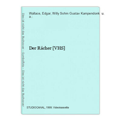 Der Rächer [VHS] Wallace, Edgar, Willy Sohm Gustav Kampendonk  u. a.: