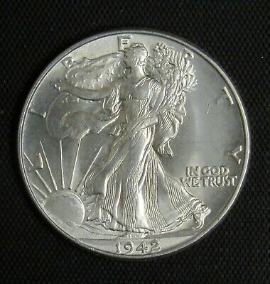 1942 Walking Liberty Half Dollar CHOICE BU