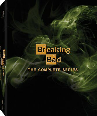 Breaking Bad: The Complete Series (Blu-ray Disc, 16-Disc Set) - Brand New