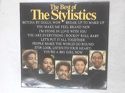 The Best Of The Stylistics LP (The Stylistics - 1974) 9109 003 (ID:15531)