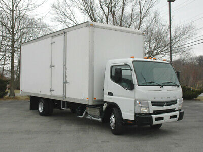 """2013 Mitsubishi Fuso """"Canter"""" Fe 160 20 Ft Box Truck, Diesel / Clean"""