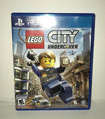 LEGO City Undercover - Sony PlayStation 4 PS4 - Excellent Condition