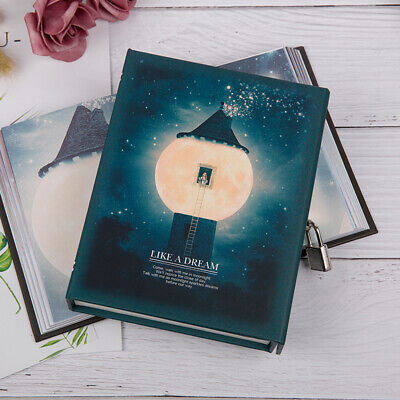 """Like a Dream"" 1pc Journal Notebook Lock Box Diary Cute Stationery Gift Package."