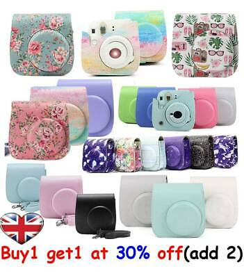 For Instax Mini 8/9/8+ Instant  Camera Cover Shoulder Bag Case Shell