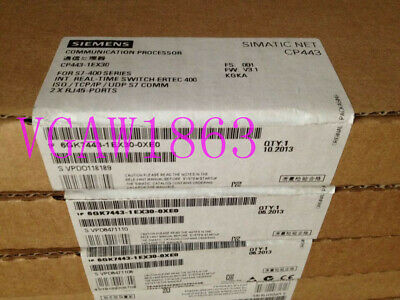 1Pc Siemens 6Gk7443-1Ex30-0Xe0 6Gk7 443-1Ex30-0Xe0 New Fast Delivery
