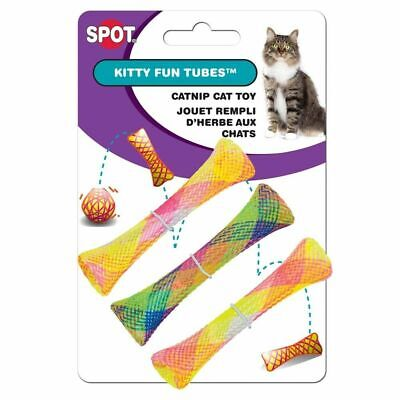 Ethical Pet - Spot Catnip Cat or Kitten Toy, Colorful Fun Tubes