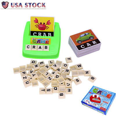 Literacy Fun Game - Sight Words - English Spelling Alphabet Letter Game Board