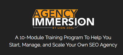 Lion Zeal - Agency Immersion Program + Scientific Rankings