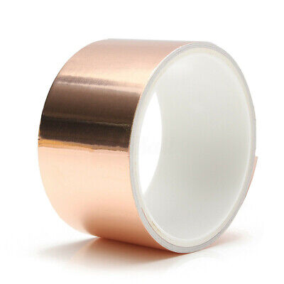 For EMI Guitar Shielding Crafts Arts Tools Copper Foil Tape Self Adhesive Tapes