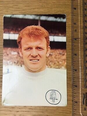 Very rare Billy Bremner original Coffer Sports post card Leeds United