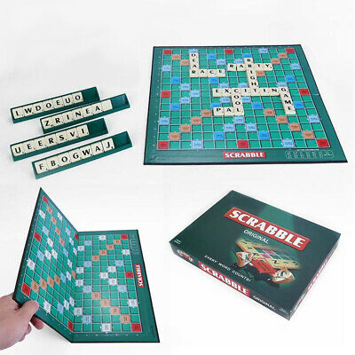 Scrabble Board Game Family Kids Adult Educational Toys Letters Puzzle Games