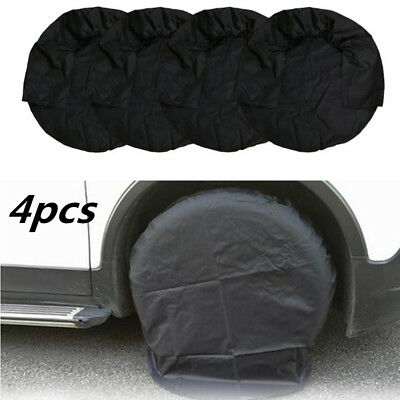 4X Car Truck And Motor Home New Set Of 4 Wheel Tire Covers  For RV Trailer Camp