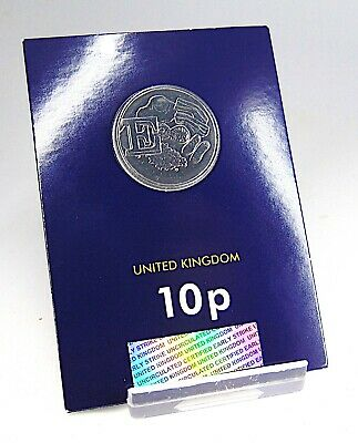 LETTER E (English Breakfast) Early Strike 10p Coin BU Uncirculated Sealed 2018