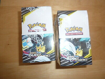 boosters cartes pokemon  , booster duo de choc ,